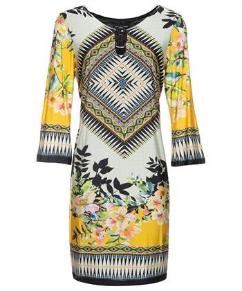 Ana Alcazar jurk multiprint