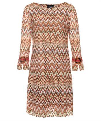Ana Alcazar jurk Zaly missoni zigzagprint