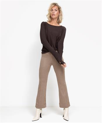 Ana Alcazar pantalon pied-de-poule