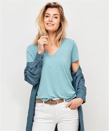 Beaumont basic shirt v-hals