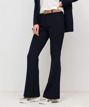 Beaumont flare pantalon crêpe