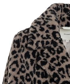 Beaumont fun fur jas dierprint