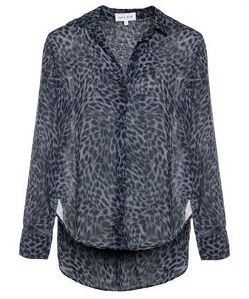 Bella Dahl blouse panter denim