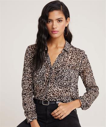 Bella Dahl blouse panterprint