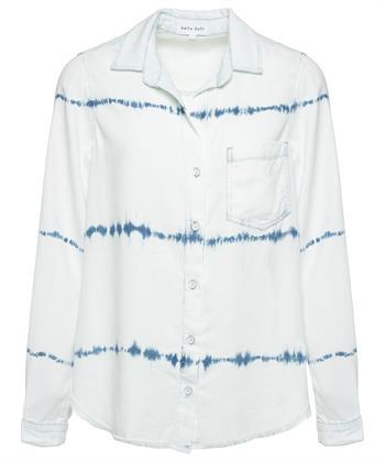 Bella Dahl blouse tye dye
