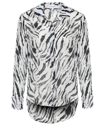 Bella Dahl blouse zebraprint