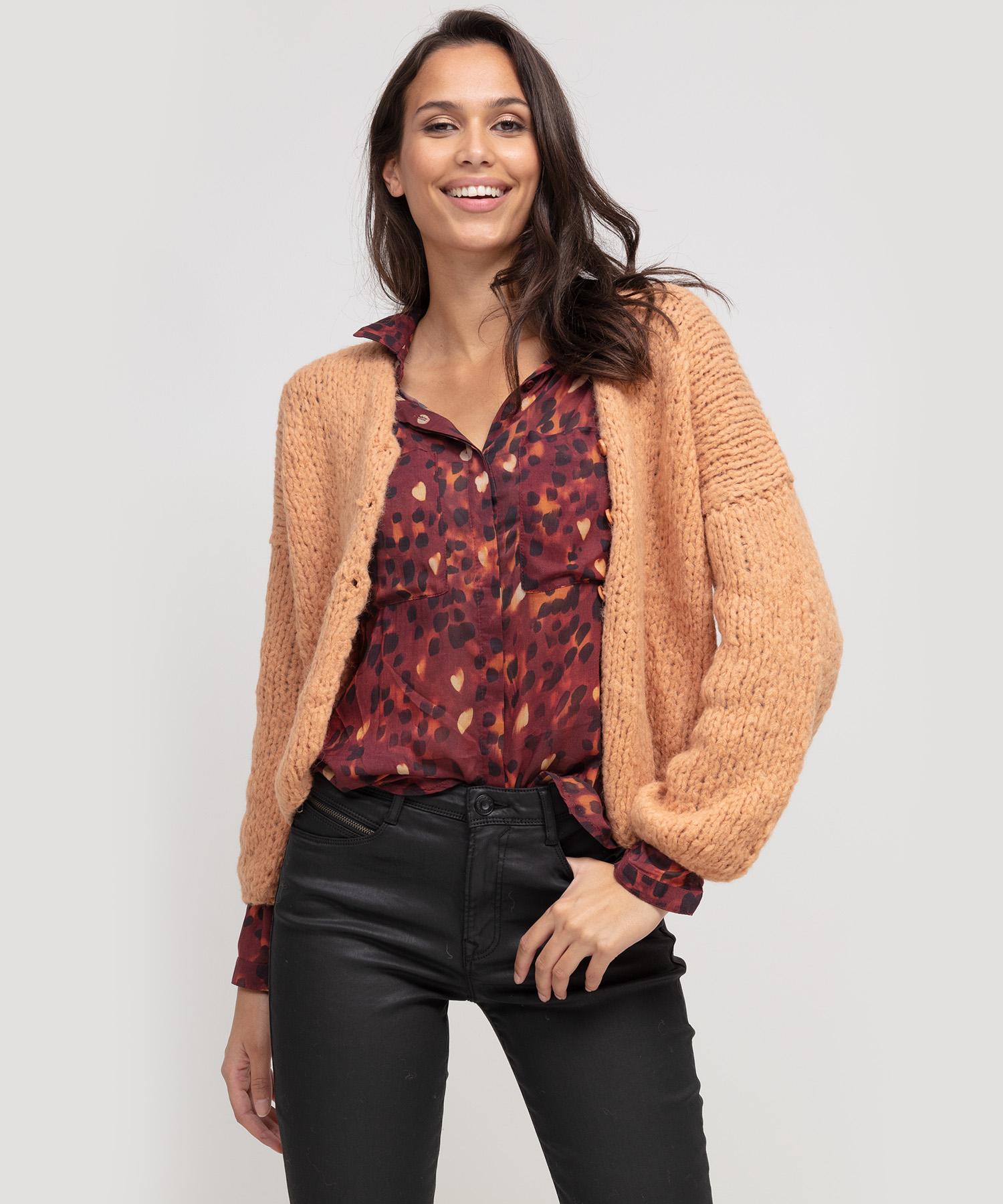 Bella Dahl dierprint blouse