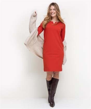 BeOne jurk rood