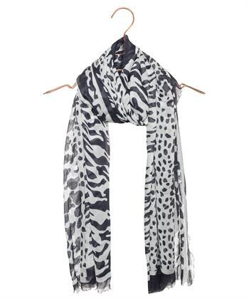 BeOne sjaal dierprint