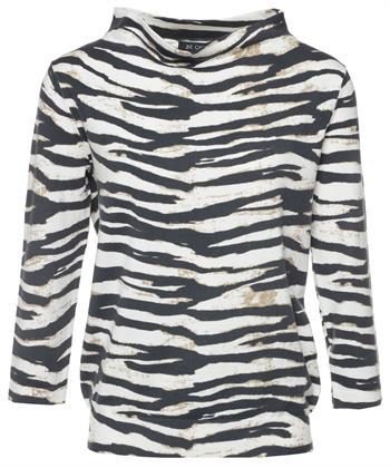 BeOne trui zebraprint