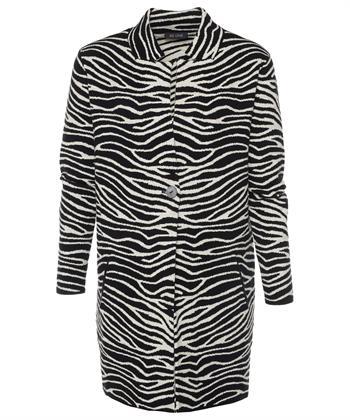 BeOne vest zebraprint