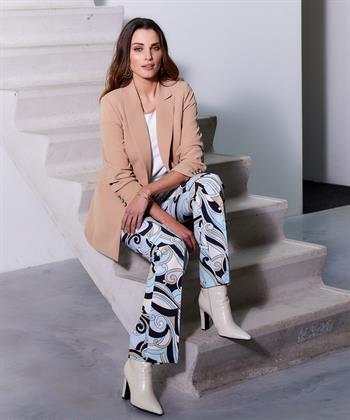 Cambio flare broek Ros Pucci print