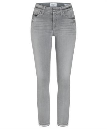 Cambio grijze jeans Paris strass