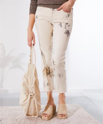 Cambio jeans Tess bloemen