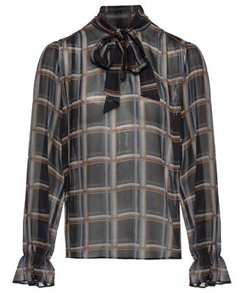 Caroline Biss blouse ruit