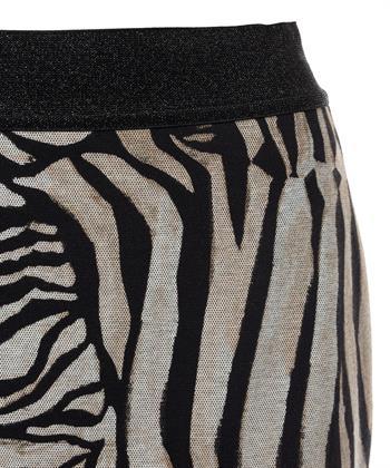 Caroline Biss kokerrok zebra