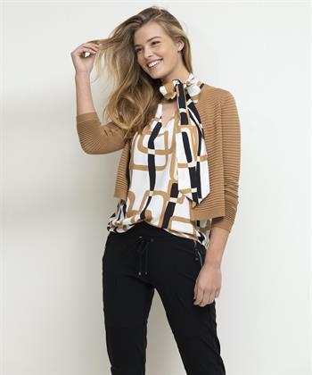 Caroline Biss mouwloze blouse