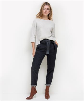Caroline Biss paperbag jeans