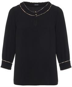 Caroline Biss rechte blouse crepe