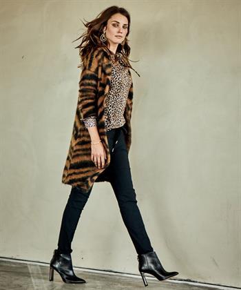 Caroline Biss vest zebraprint