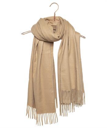 Codello shawl camel /cognac