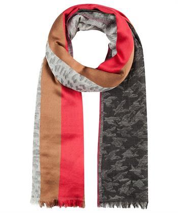 Codello shawl grijs met kleur