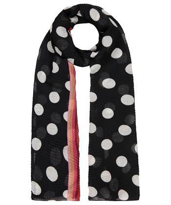 Codello shawl met stip