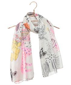 Codello shawl mixprint