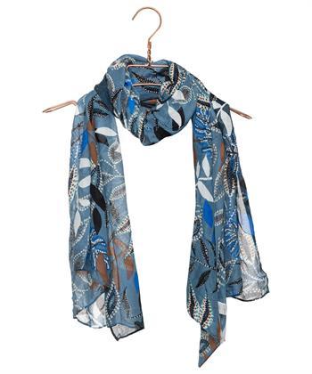 Codello sjaal etnische bladprint