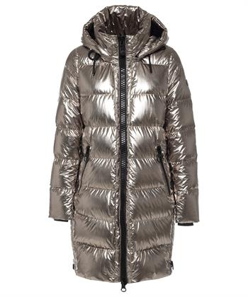 Creenstone doorgestikte winterjas