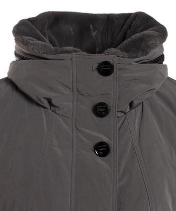 Creenstone winterjas fake fur kraag