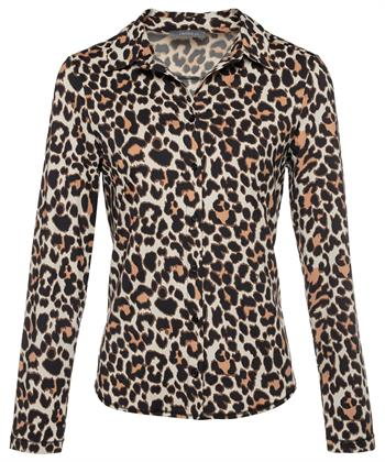Emotions blouse dierprint