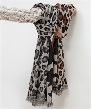 Fraas dierprint sjaal
