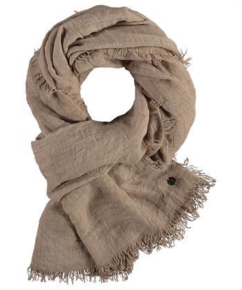 Fraas shawl uni camel