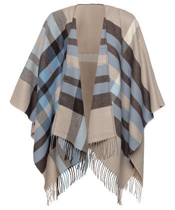 Fraas sjaal omslagdoek blok en ruit