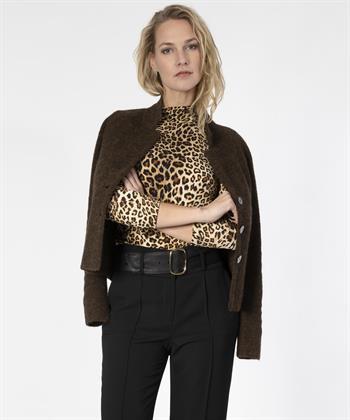 Giulia e Tu col luipaard