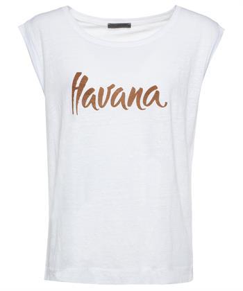 Giulia e Tu linnen shirt 'Havana'