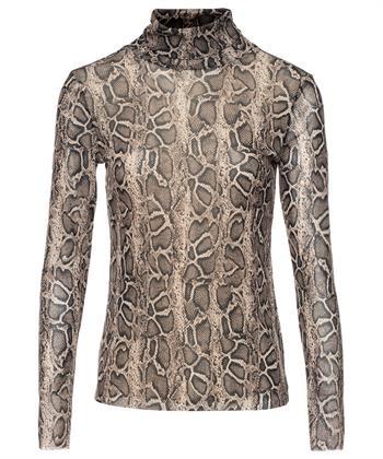 Giulia e Tu mesh colshirt snakeprint