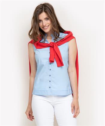 Giulia e Tu mouwloze blouse