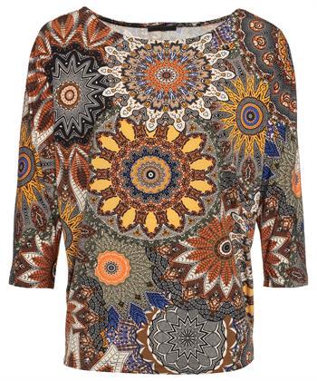 Giulia e Tu shirt etnische print