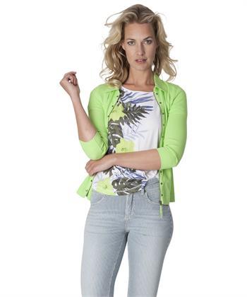 Giulia e Tu t-shirt tropische print