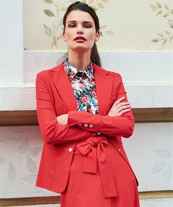 Jane Lushka blazer Eva rood