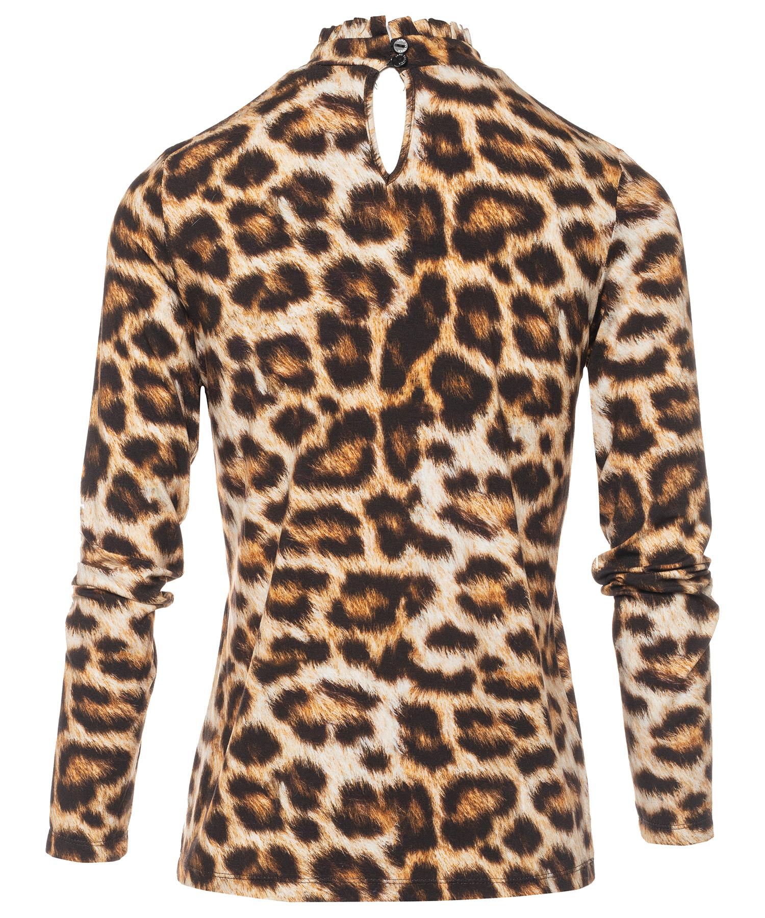 Jane Lushka dierprint shirt