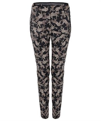 Jane Lushka pantalon met panterprint