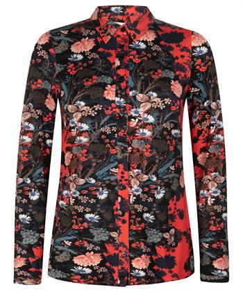 Kyra & Ko bloemenprint blouse Betta