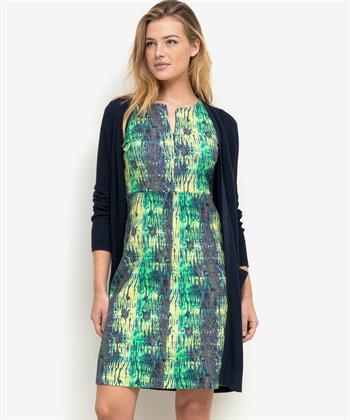 Kyra & Ko jurk Sjaan fancy slinky snake print