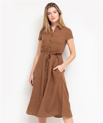 Kyra & Ko linnen jurk Pebble