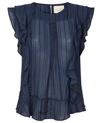 Lollys Laundry volant blouse Hamony