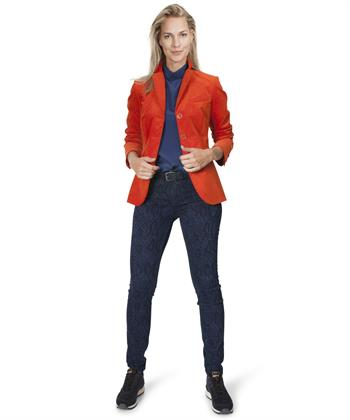 Luisa Cerano blazer stretch velours