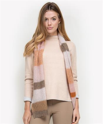 Luisa Cerano blokstreep shawl